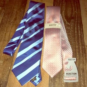 2 Kenneth Cole ties lot